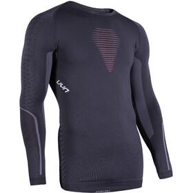 UYN Visyon UW LS Shirt Herren charcoal/red/white
